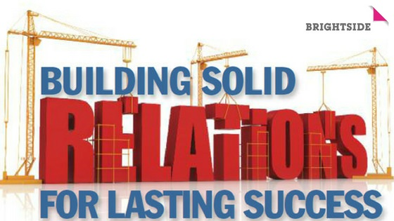 Building solid relationships for lasting success